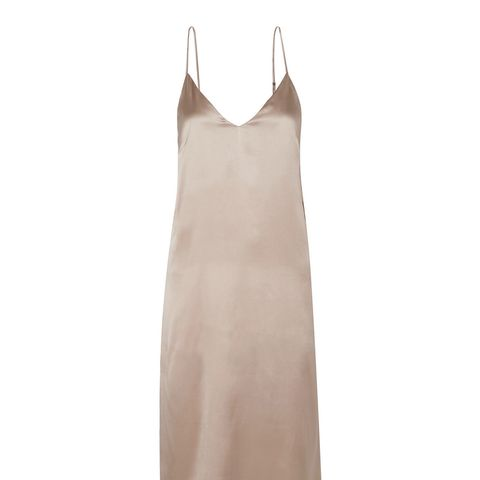 Gemma Silk-Satin Midi Dress