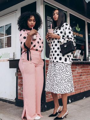 The Best Polka-Dot Outfits on the Internet Right Now
