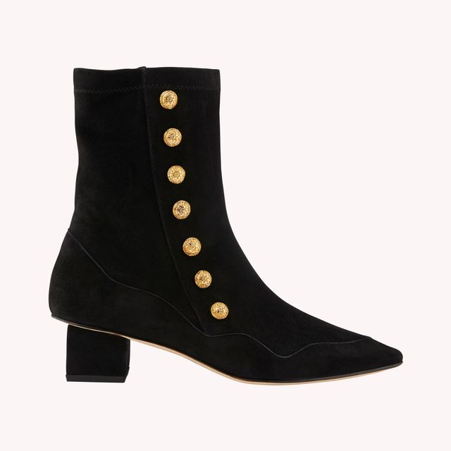 Rue St. Kingly Suede Ankle Boots