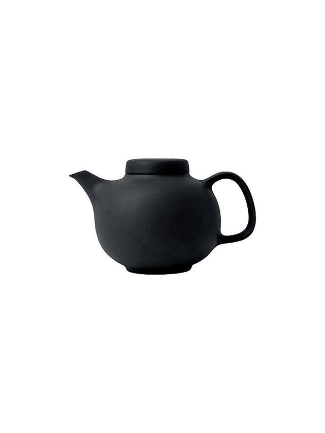 Barber & Osgerby Olio Black Teapot