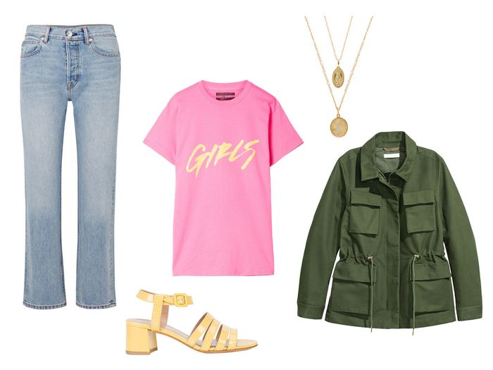 7ec22c31 Cool Ways to Style Your Graphic Tee | Who What Wear