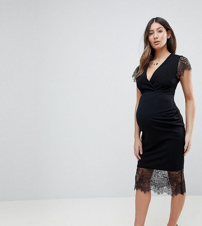 What To Wear To A Wedding When Youre Pregnant Who What Wear