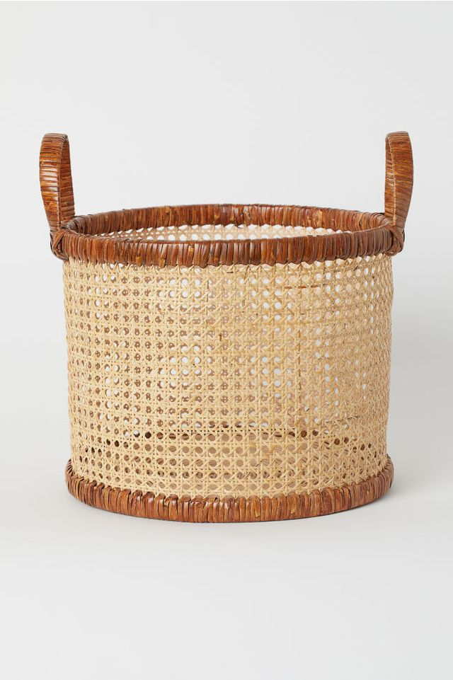 H&M Home Rattan Basket