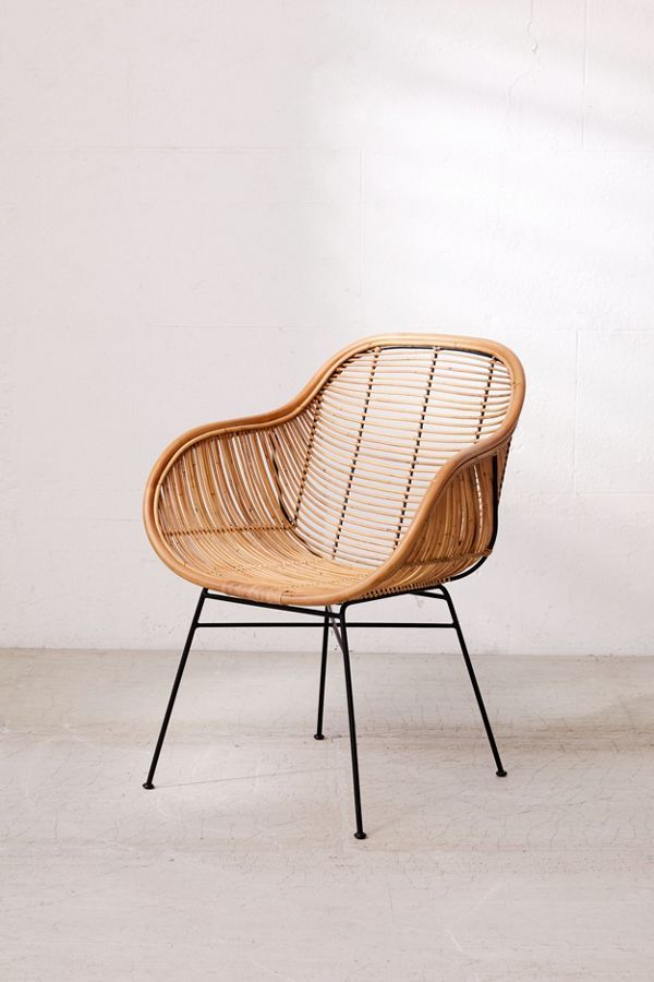 Urban Outfitters Lillian Rattan Chair