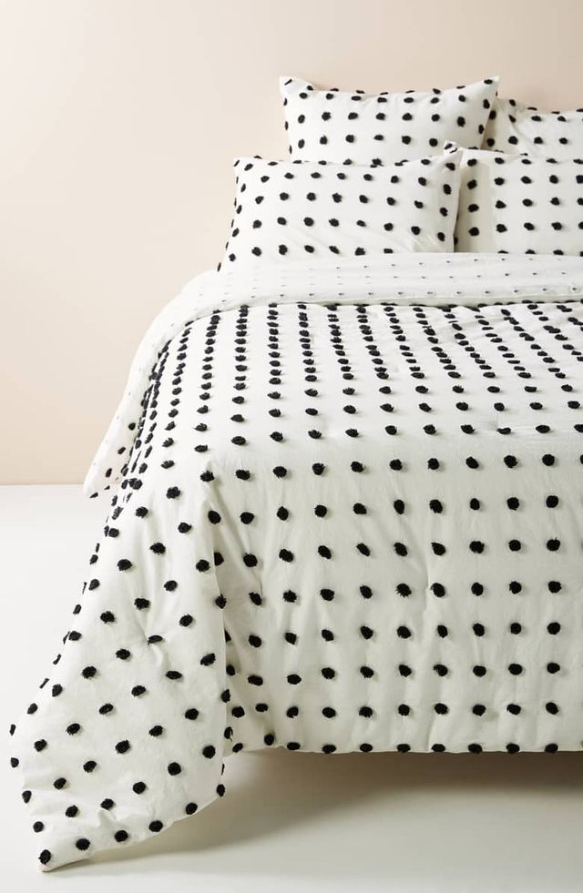 Anthropologie Tufted Makers Quilt