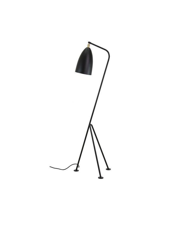 Shany Floor Lamp, Black