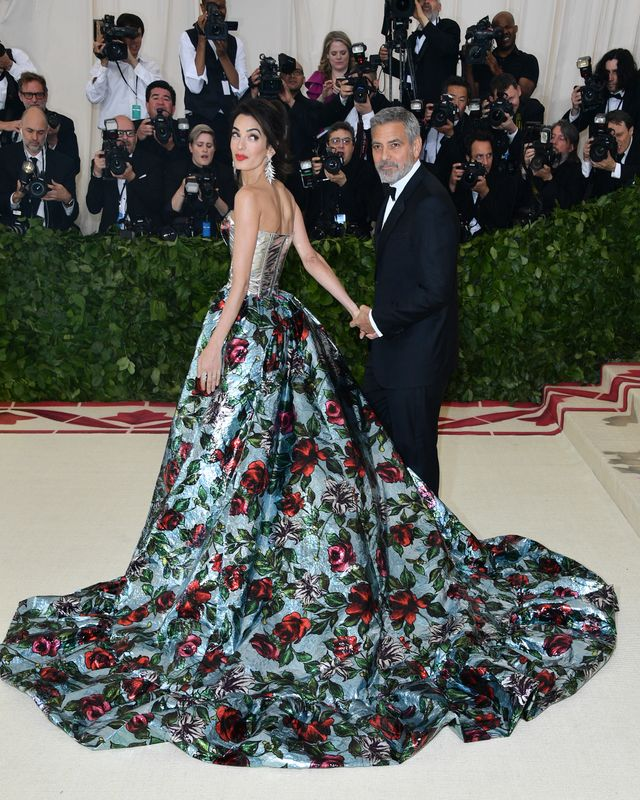 <p>George and Amal Clooney.</p>