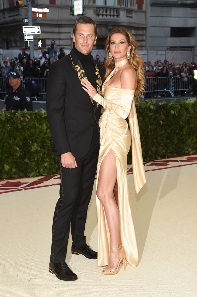 <p>Tom Brady and Gisele Bündchen. </p>
