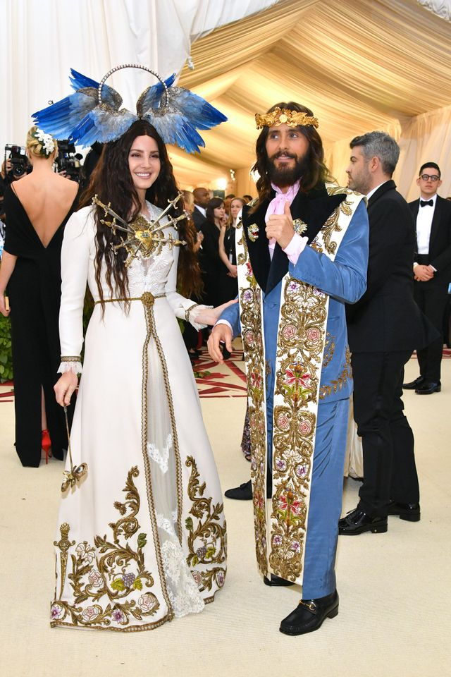 <p>Lana Del Rey and Jared Leto.</p>