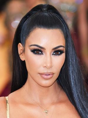 This $38 Product Is the Secret to Kim Kardashian West's Sleek Met Gala Hair