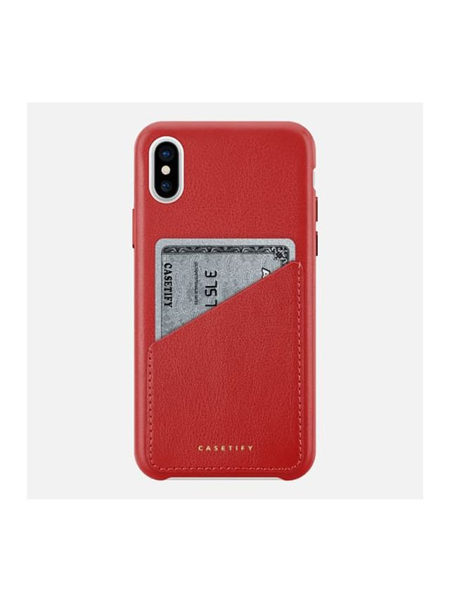 Casetify iPhone X Leather Case