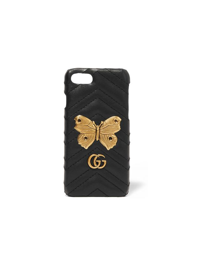 Gucci iPhone 7 Quilted Leather Case