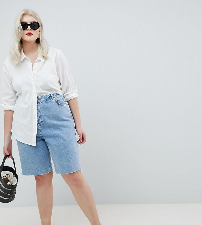 c6137ef257e The 5 Brands With the Best Plus-Size Denim Shorts