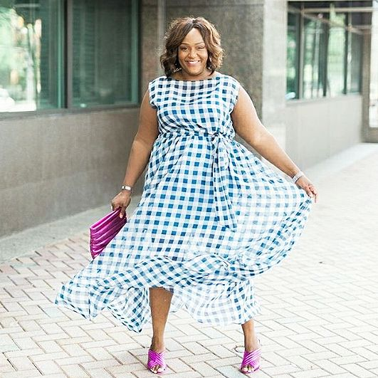 15 Plus-Size Maxi Dress for the Summer | Who What Wear