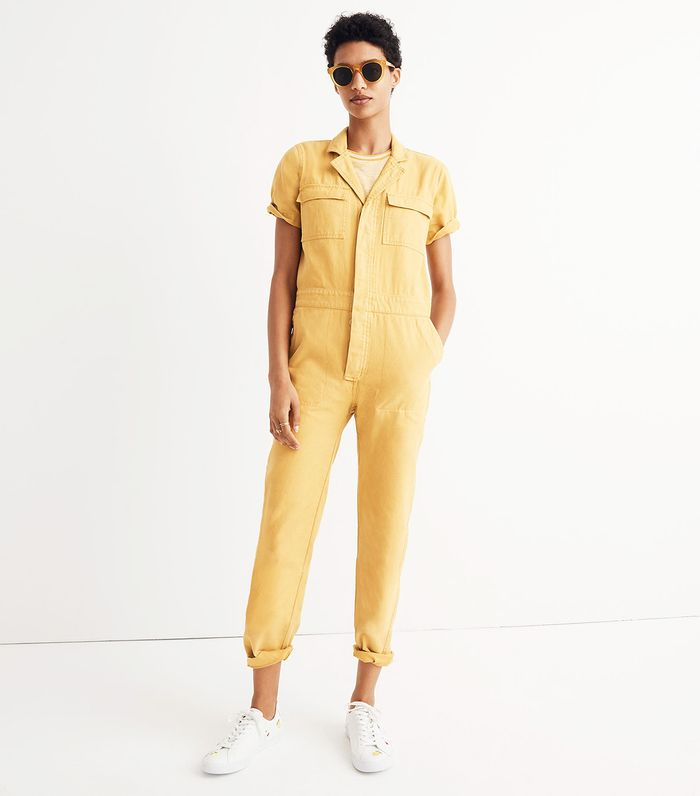 7f06fcd70138 Pinterest · Shop · Madewell Short-Sleeve Coverall Jumpsuit ...