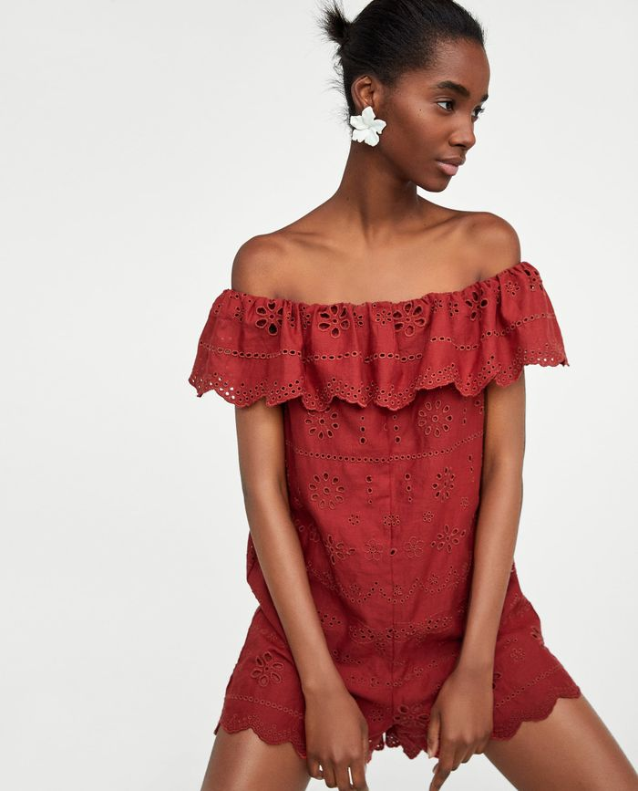 01fa3e4986b9 Pinterest · Shop · Zara Embroidered ...