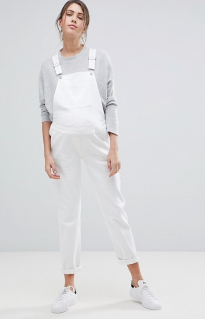 70e99e7762ace These Maternity Overalls Are Perfect for Expectant Mothers | Who ...