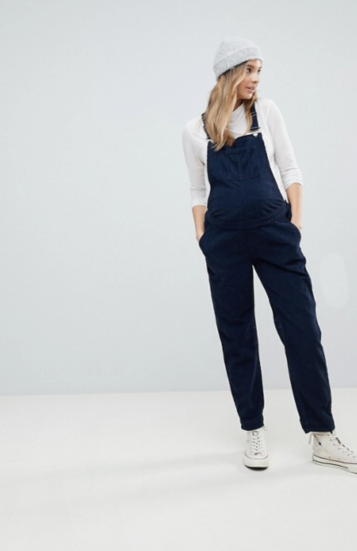 21d0c94d8643 These Maternity Overalls Are Perfect for Expectant Mothers