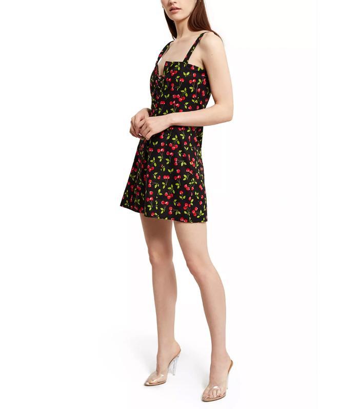 972a23f6636 Pinterest · Shop · Callipygian Cherry Print Corset Dress ( )