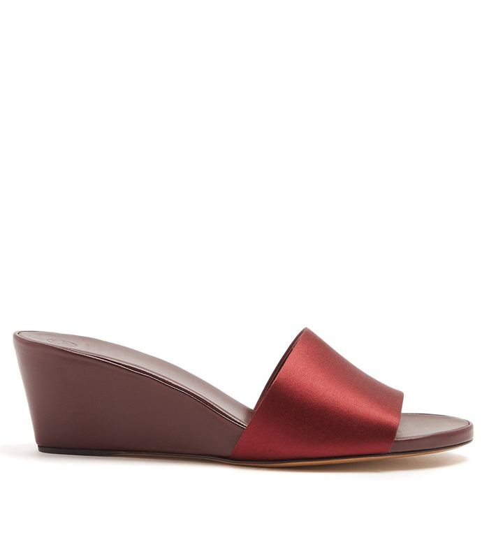 Sorry But Wedge Mules Are Officially Back Who What Wear