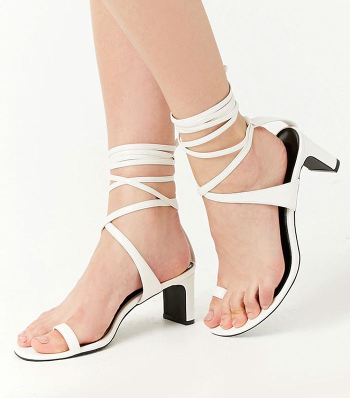 b698633a8ea I'm Losing It Over Forever 21's Cheap Summer Shoes | Who What Wear