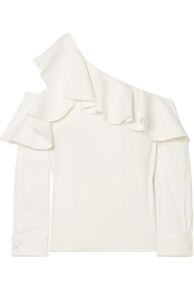 19 Pretty White Blouses To Wear This Summer Who What Wear
