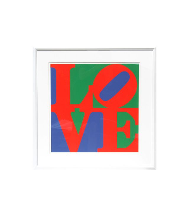 Robert Indiana Classic Love Serigraph