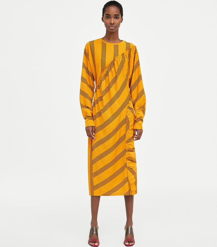 13ce707a The Very Best Spring Dresses From Zara | Who What Wear