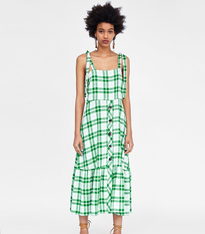 The Very Best Spring Dresses From Zara Who What Wear