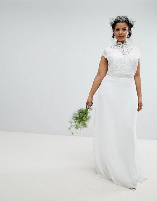 The Best Wedding Dress Styles for Plus-Size Brides | Who What Wear