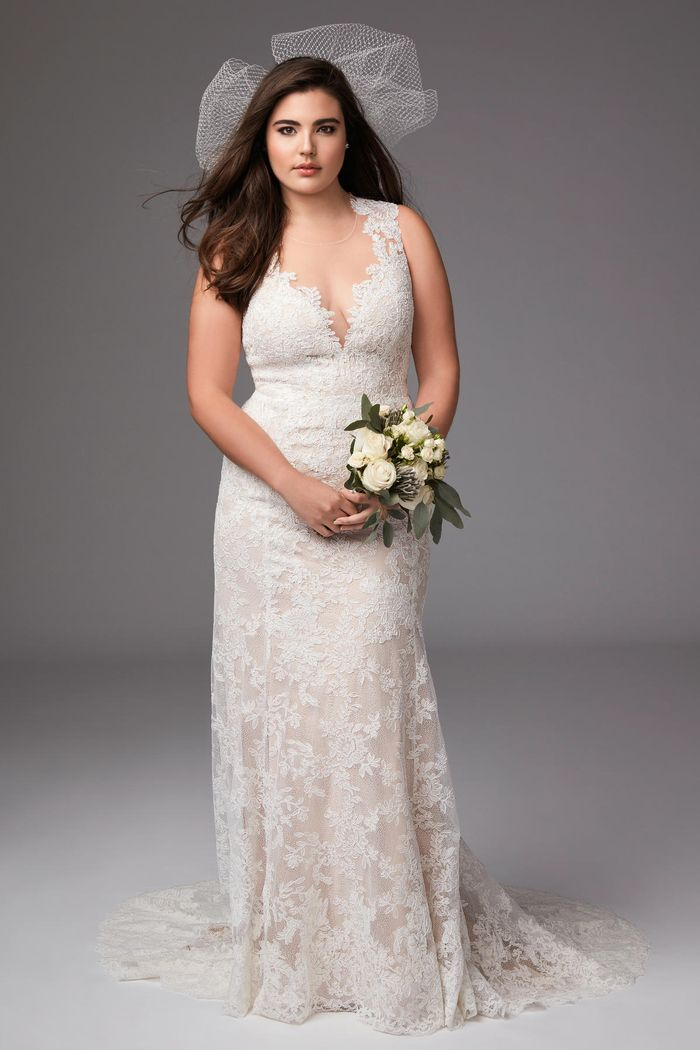 The Best Wedding Dress Styles For Plus Size Brides Who What Wear