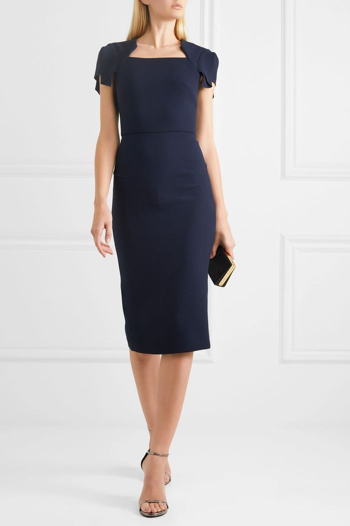 Meghan Markle Wears Roland Mouret The Night Before Wedding