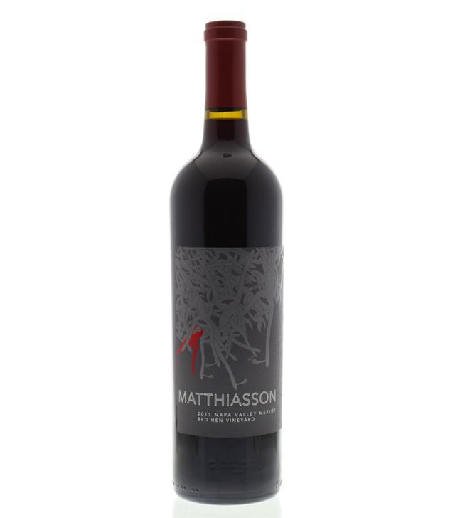 Matthiasson Red Hen Vineyard Merlot 2011