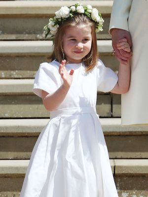 Princess Charlotte Stole the Show in An Adorable Outfit and Floral Garland