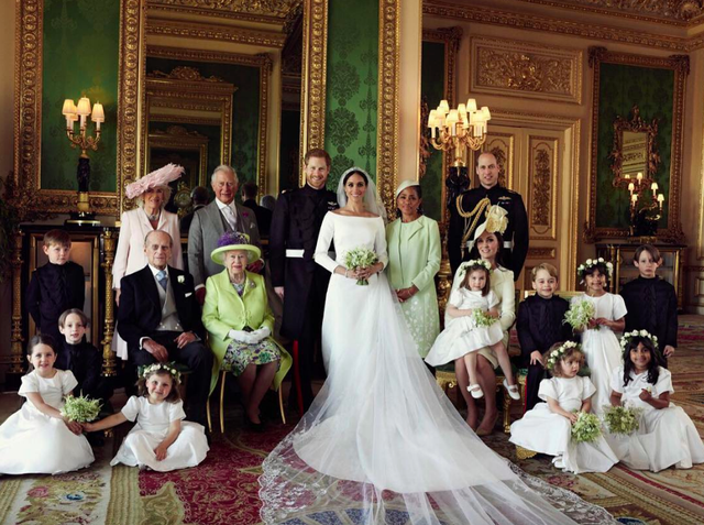 Meghan Markle's Royal Wedding Portraits