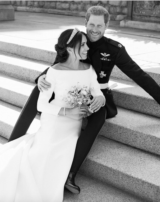 Prince Harry and Meghan Markle Wedding Portraits