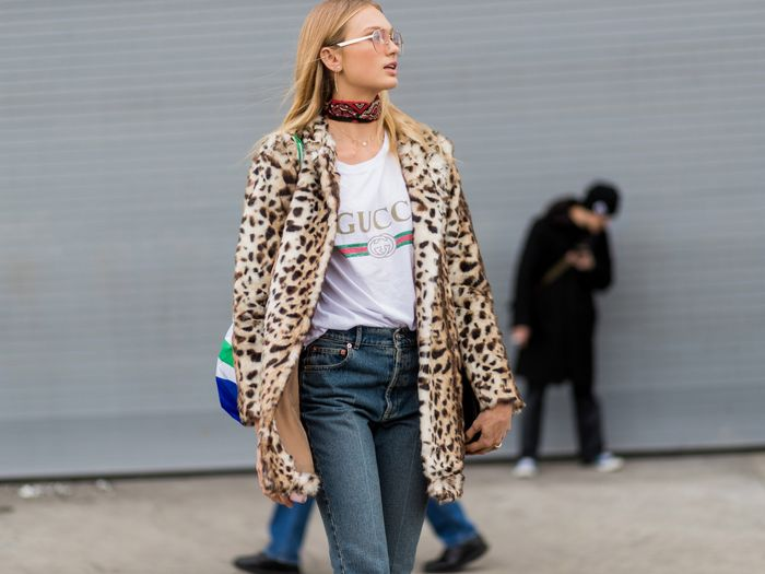 be20929f8 How to Style the Gucci Logo T-Shirt | Who What Wear
