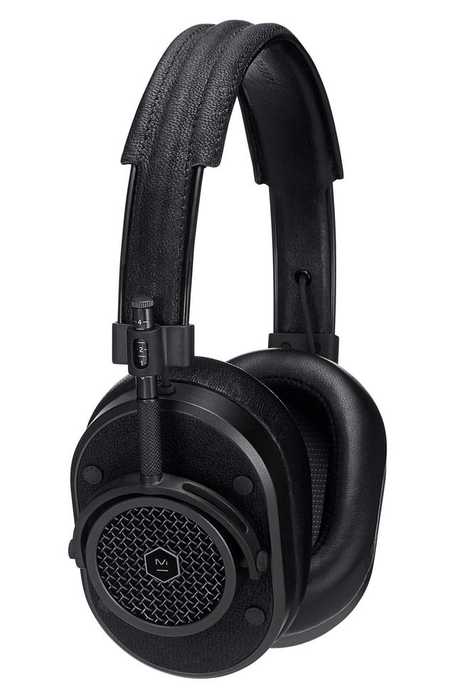 Master & Dynamic Mh40 Leather Over Ear Headphones