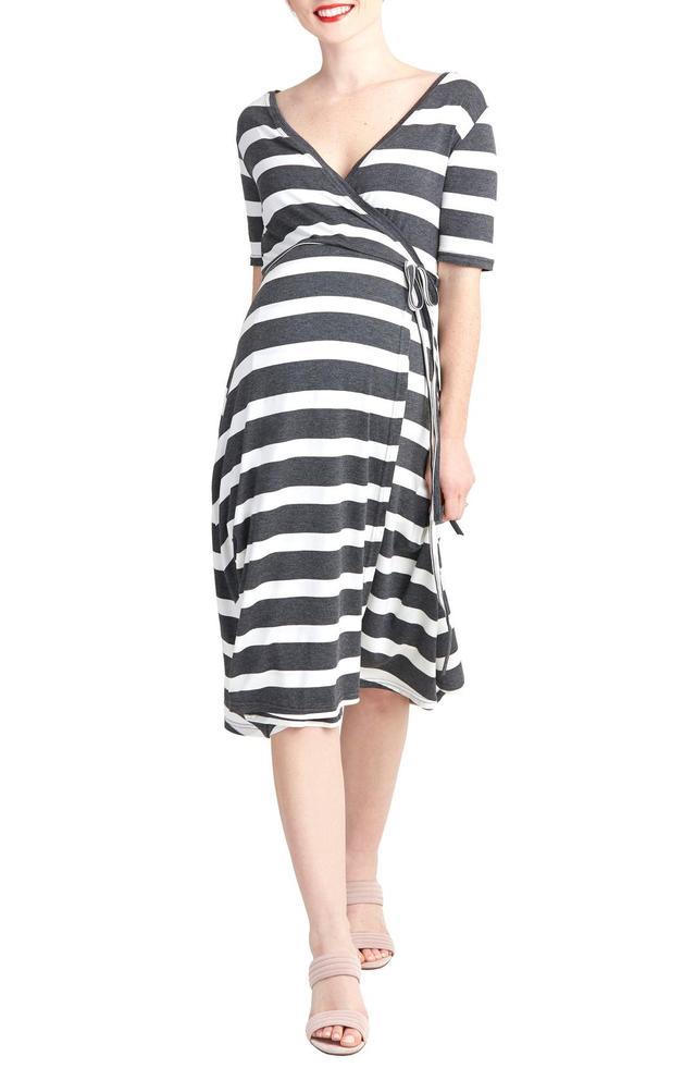Maya Maternity/nursing Wrap Dress