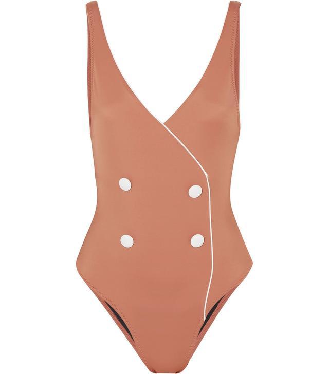 The Juliette Wrap-effect Swimsuit