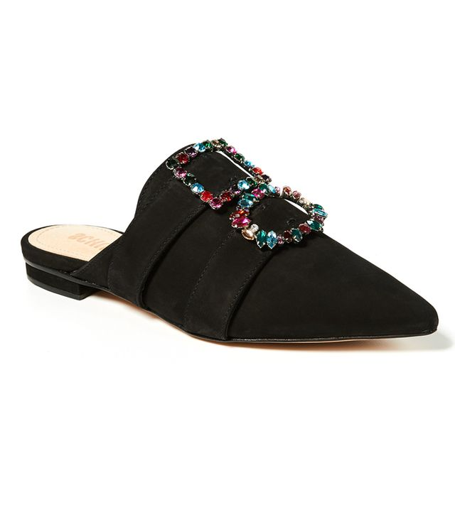 Rebecca Point Toe Mules