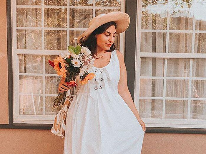 We just found the perfect white dress who what wear mightylinksfo