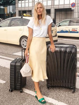 Where to Get This Season's Trendy Slip Skirt Without Spending a Fortune