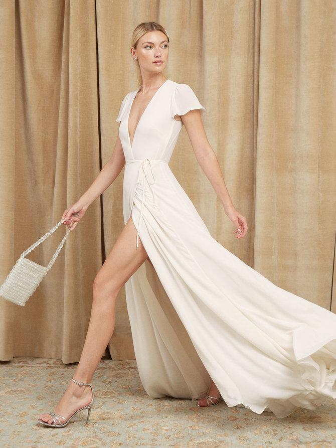 48c6ceb755e8 Pinterest · Shop · Reformation Rosey Dress ...