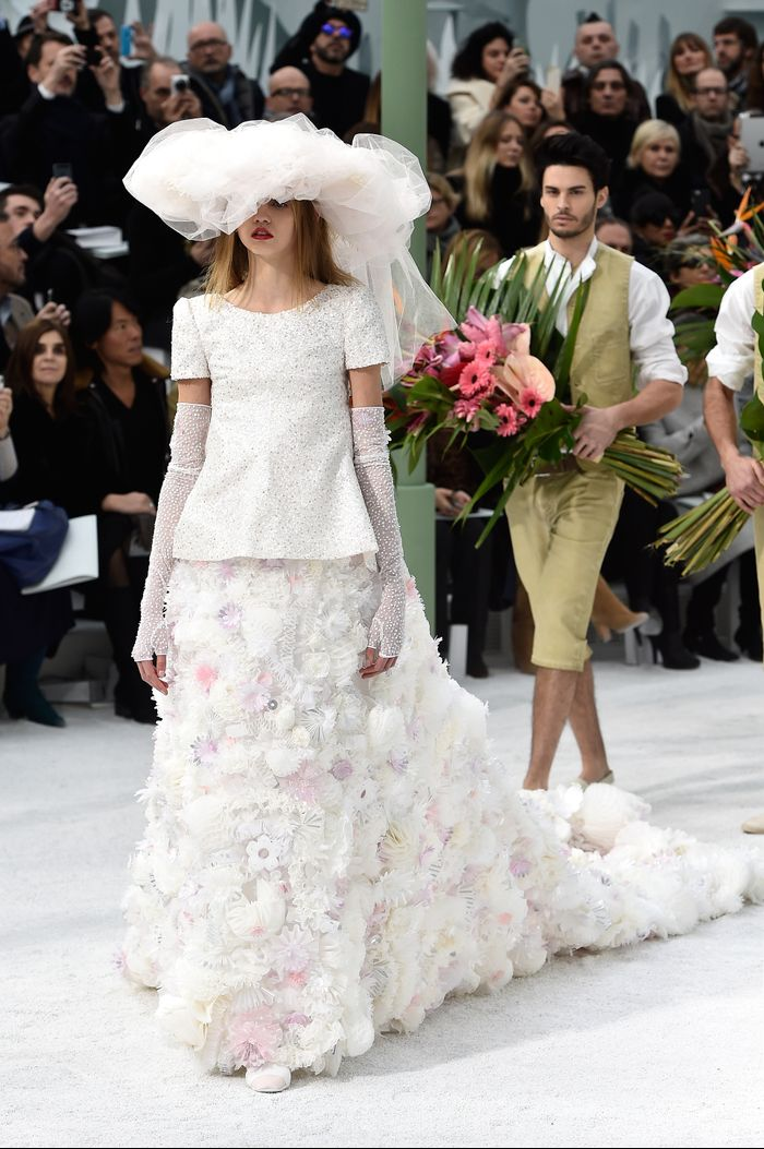 The Most Incredible Chanel Wedding Dresses Ever Created