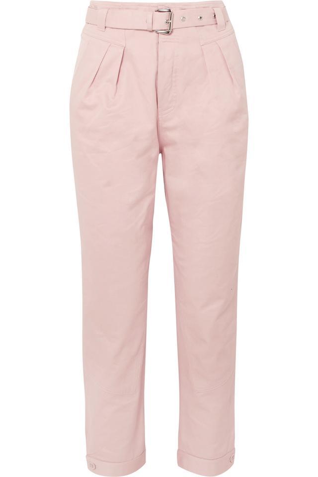 Arsenios Cotton-twill Tapered Pants