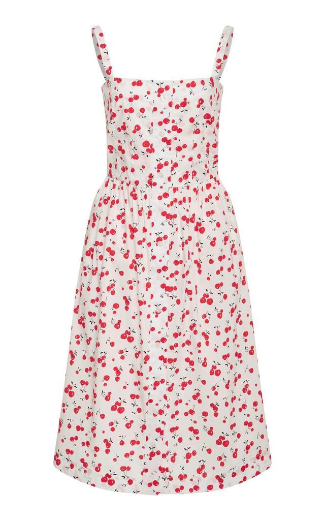 Laura Cherry Printed Cotton Dress