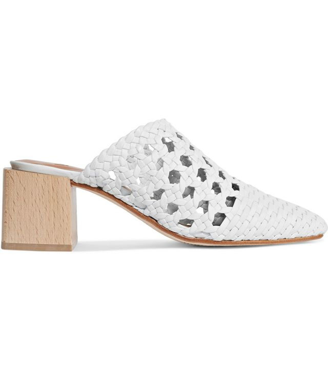 Ines Woven Leather Mules