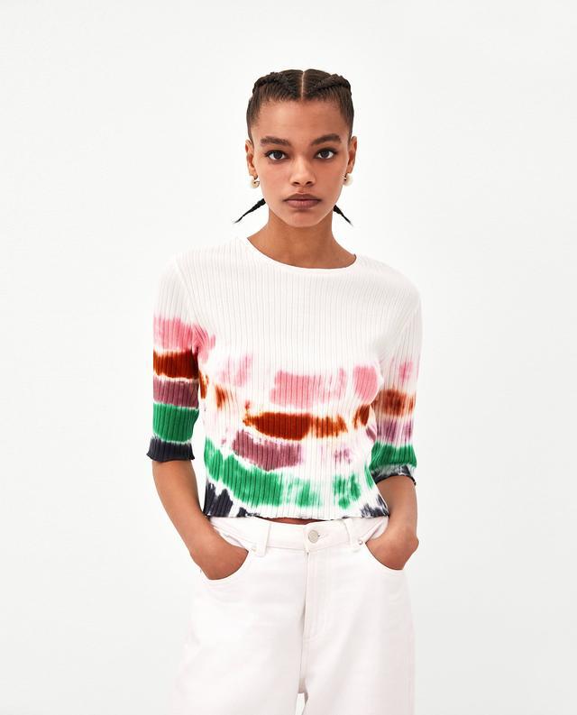 Zara Tie Dye T Shirt