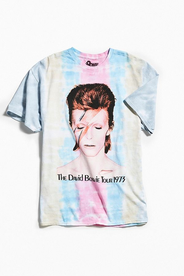 Urban Outfitters David Bowie Tie-Dye T-Shirt